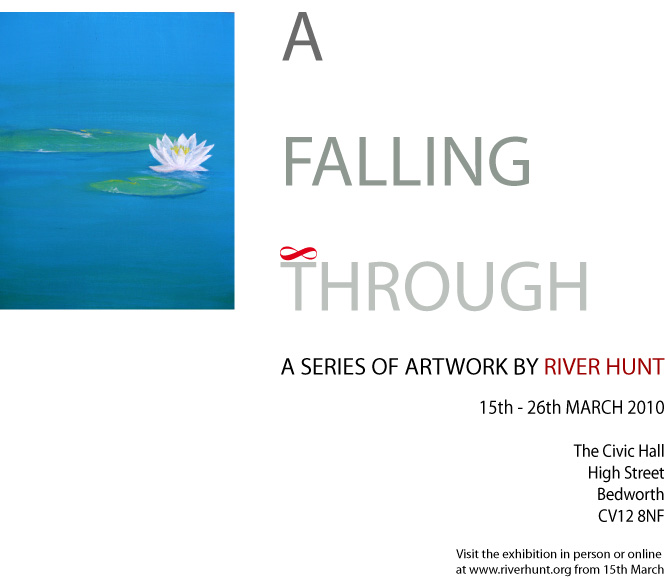 A Falling Through Exhibition Coming Soon