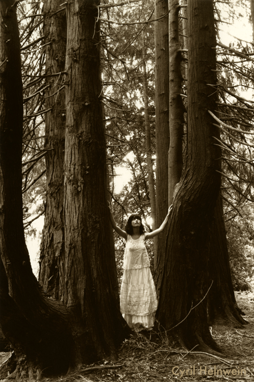 """""""Lady in the Woods"""" Photograph by Cyril Helnwein"""