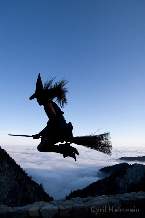 """""""The Witching Hour"""", photograph by Cyril Helnwein"""