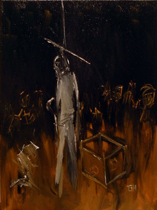 Figures At The Base Of An Execution (2003) By River Hunt