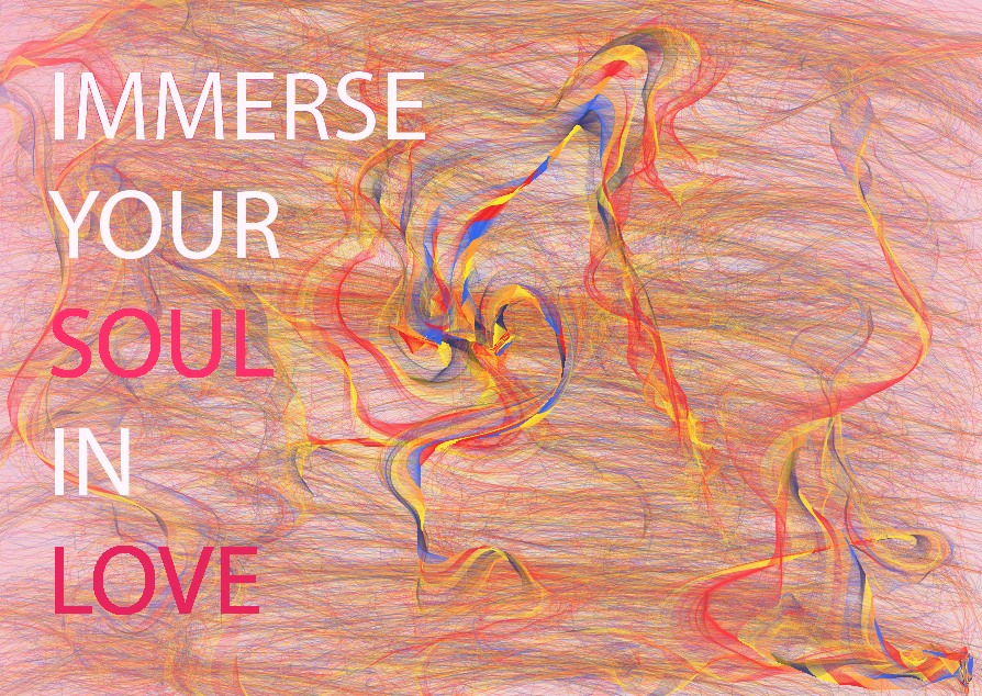 immerse your soul in love Digital Art: Immerse Your Soul In Love