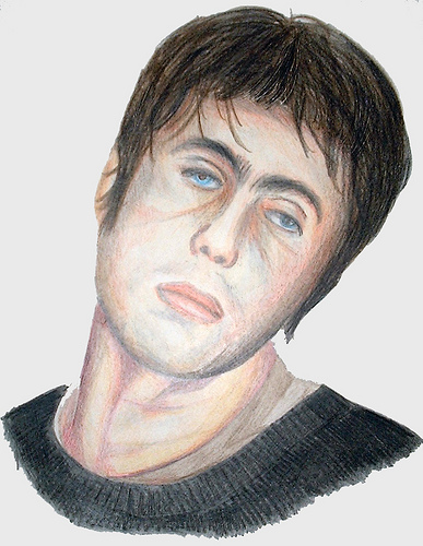 Liam Gallagher (1999) - Drawing By River Hunt