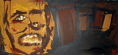 Steppenwolf (2003) - Painting By River Hunt