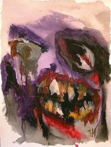 Terror (2004) - Watercolour By River Hunt