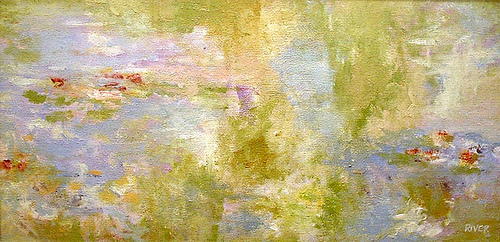 Water Lillies (Tribute To Monet) (2004) - By River Hunt